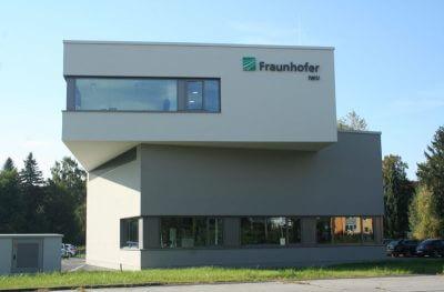 Gebäude des Fraunhofer Instituts (IWU) in Zittau.