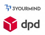 Logo 3YOURMIND und dpd