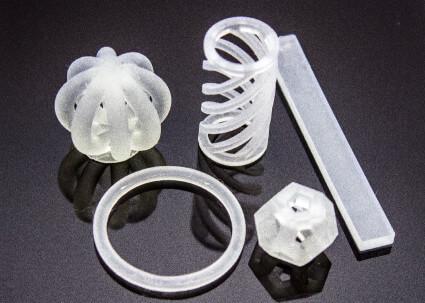 Objekte ausd dem 3D-Drucker.