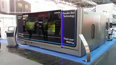 Vorstellung des neuen TLM 3D-Druckers auf der EuroBLECH 2016. (Bild: © 3ders.org)