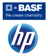 BASF und HP Logo