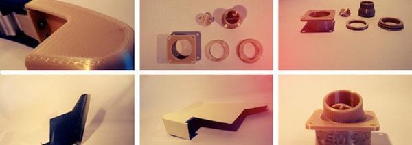 Ersatzteile aus dem 3D-Drucker.