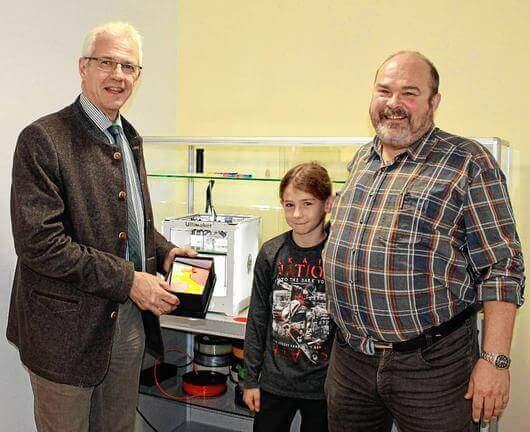 3D-Drucker im Mehrgenerationenhaus Hassfurt