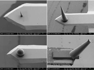 Sondenspitzen für Rasterkraftmikroskope aus dem 3D-Drucker