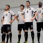 Nationalmannschaft als 3D-Figur