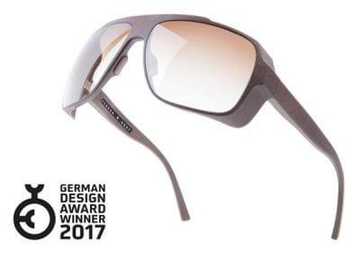 """Powder & Heat wurde für das 3d-gedruckte Brillenmodell """"The Flamboyant"""" mit dem German Design Award 2017 ausgezeichnet. (Bild: © 3ders.org)"""