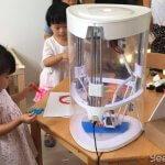 Kinder mit dem Yeehaw 3D-Drucker