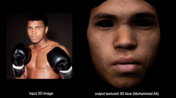 Gesichtsmodelle Muhammad Alis