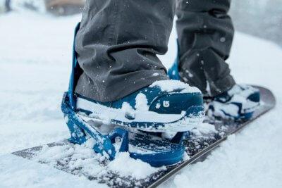Burton Snowboard-Bindung.