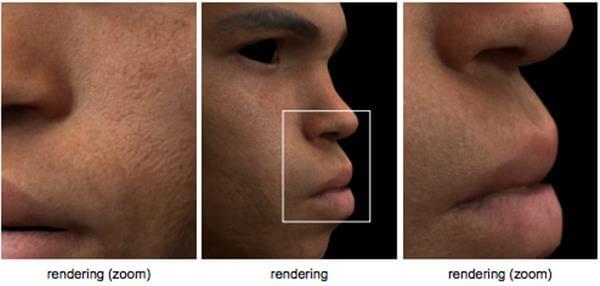 Gesichtsrendering