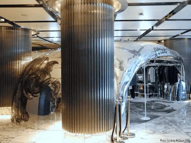 Erster Louis Vuitton Pop-up-Store mit einem Massivit 1800 3D-Drucker errichtet