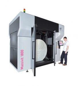 Massivit 1800 3D-Drucker