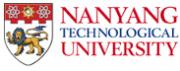 Logo Nanyang Technological Universität Singapur.