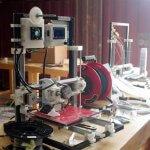 KLAKS 3D-Drucker.