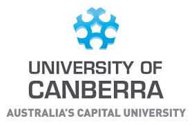 University of Canberra Logo.
