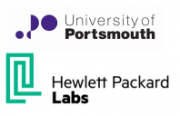 University of Portsmouth und Hewlett Packard Labs Logo