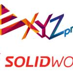 Logo XYZprinting und SOLIDWORKS