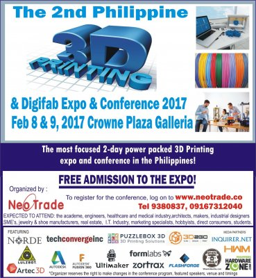 2nd 3D Printing & Digifab Expo & Conference