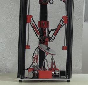 Bild von dem 3D-Drucker