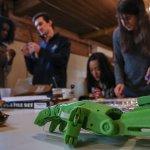 3D-gedruckte Handklammer.