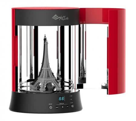 3D-Objekte härten lassen