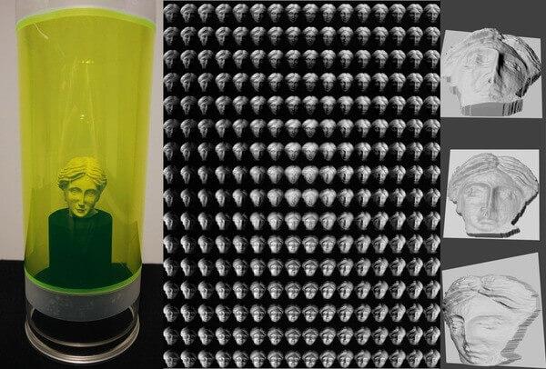 3D-Folie als Bildsensor