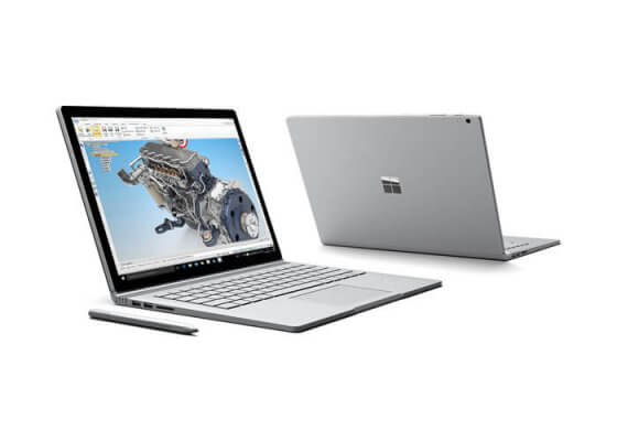 Microsoft Surface mit Solid Edge
