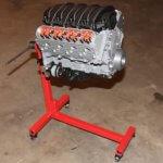 V8-Motor aus 3D-Drucker