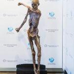Ötzi Replikat aus einem 3D-Drucker