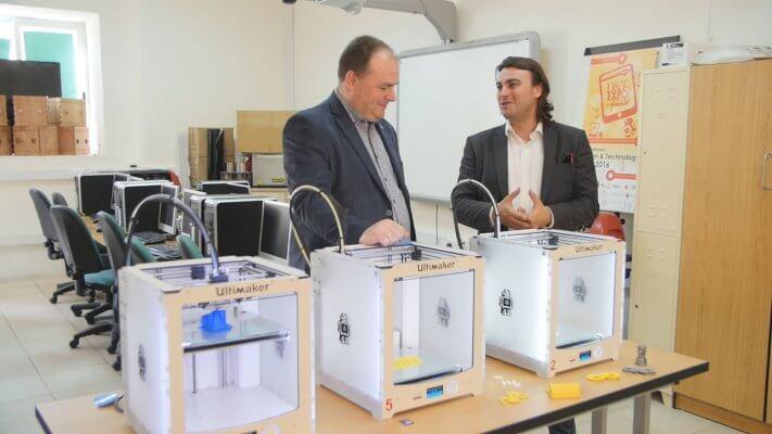 3D-Drucker in der Schule