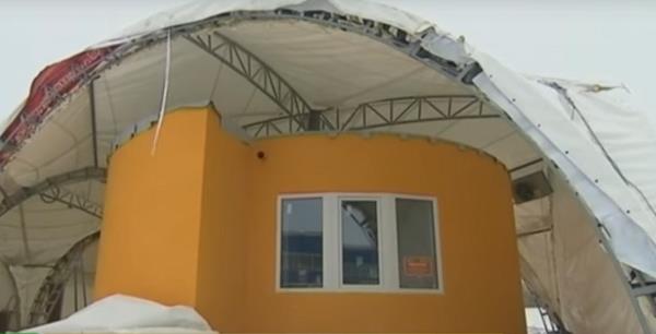 Charming Das 3D Gedruckte Haus In Stupino (Bild © Apis Cor).