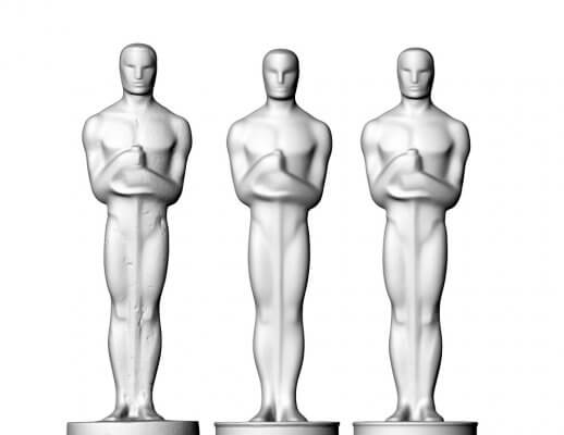 Scans der 3 Oscar-Varianten.