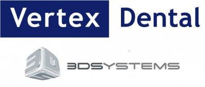 Logo 3D Systems und Vertex