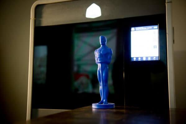 Oscar-Wachsfigur.