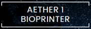 Logo Aether 1 Bioprinter