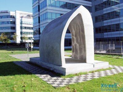 Architektur aus 3D-Drucker