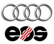 Logo Audi und EOS