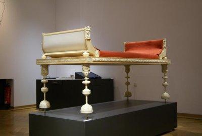 Römische Bett aus 3D-Drucker