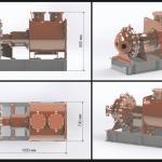 Expansionsturbine aus dem 3D-Drucker
