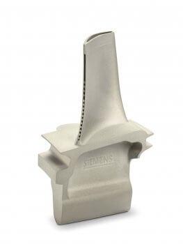 Gasturbinenschaufeln aus dem 3D-Drucker