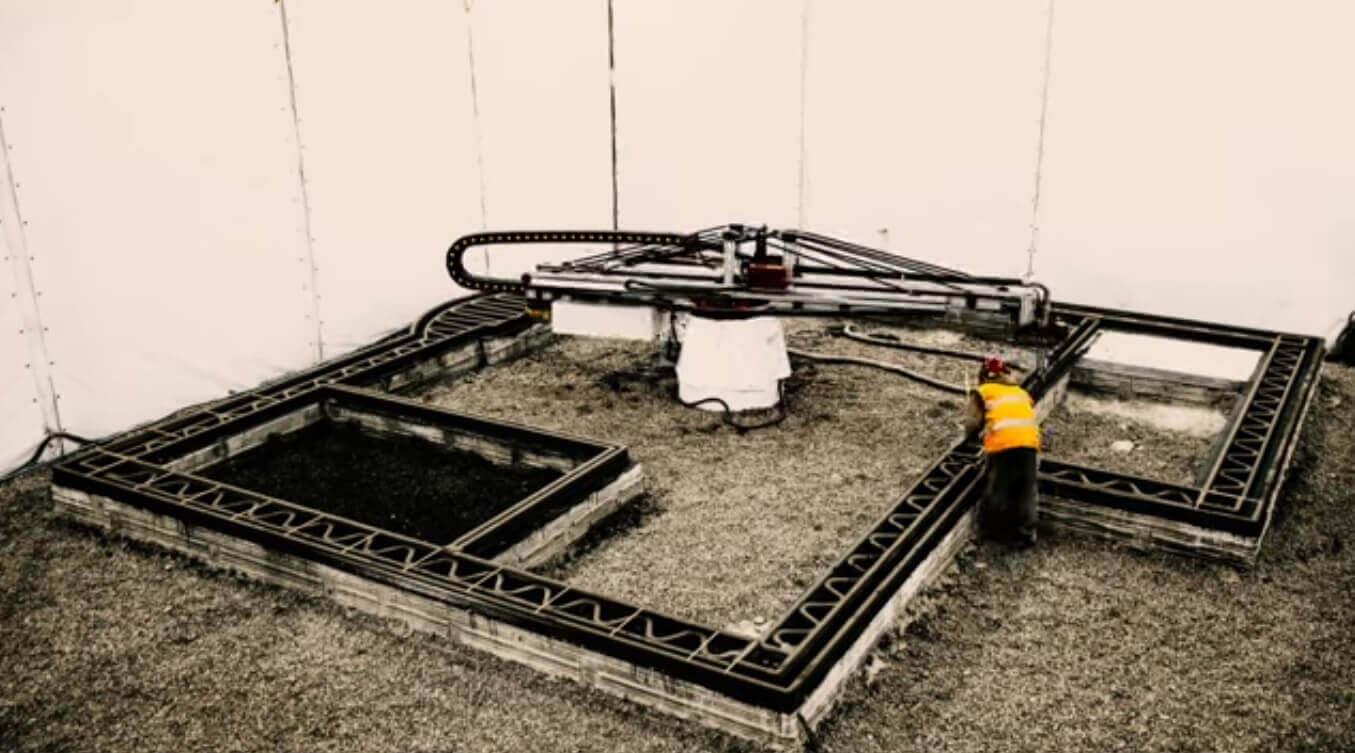 apis cor druckt 37m² haus mit 3d drucker an nur einem tag