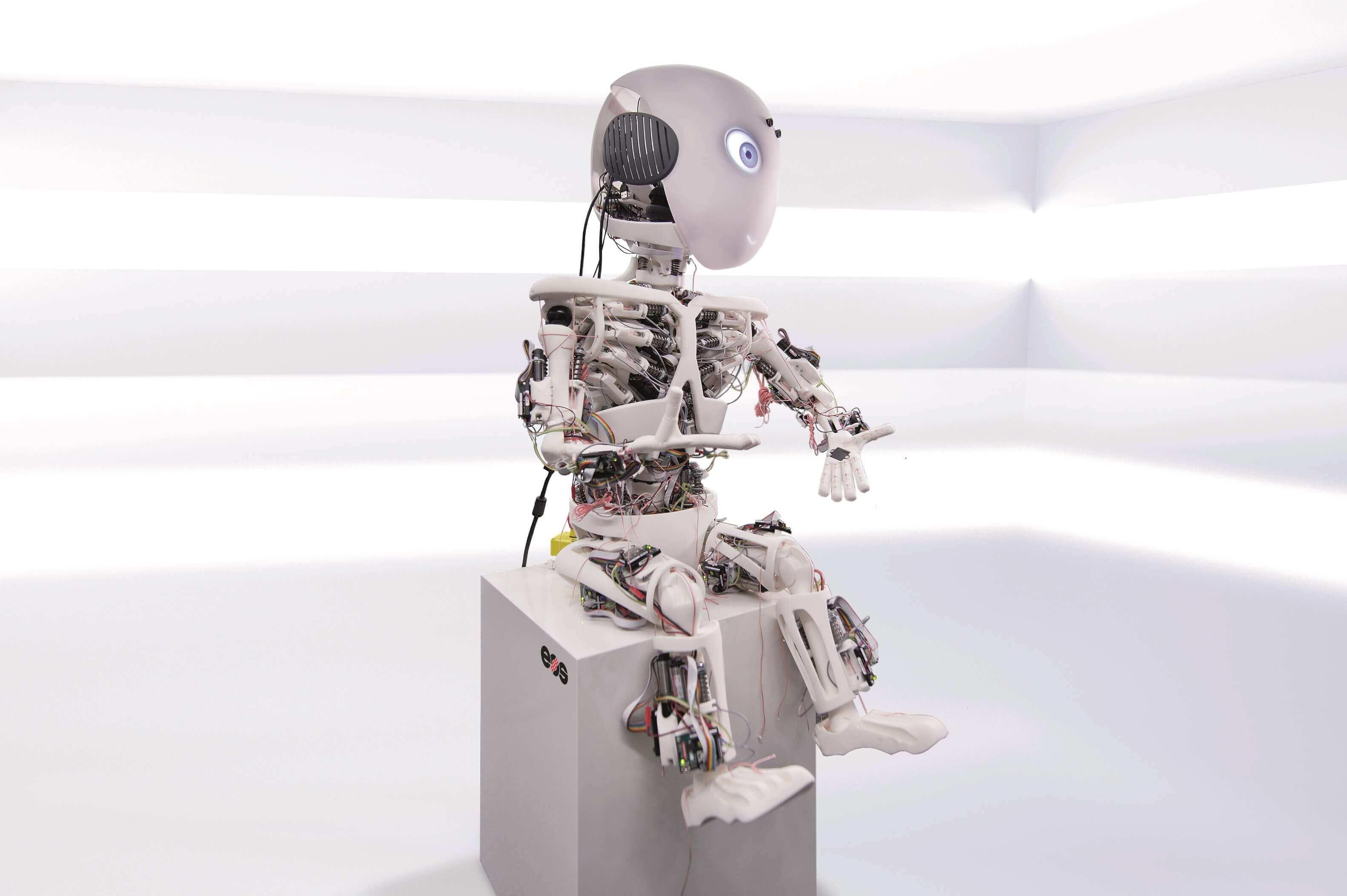 eos unterst tzt roboterprojekt roboy der tu m nchen mit 3d druck. Black Bedroom Furniture Sets. Home Design Ideas