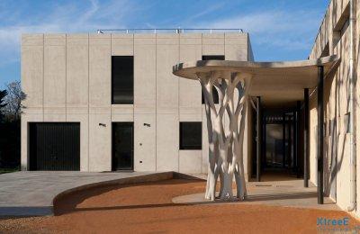 Studentenwohnheim aus 3D-Drucker