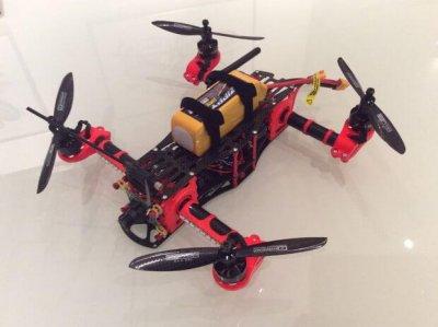 3D-Druck-Drohne
