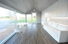 3d-gedrucktes Haus von PassivDom