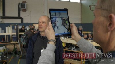 3D-Scan mit Tablet