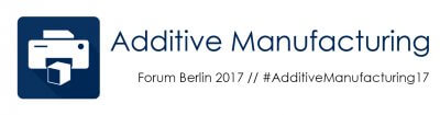 Additive Manufacturing Forum Berlin 2017 Logo.