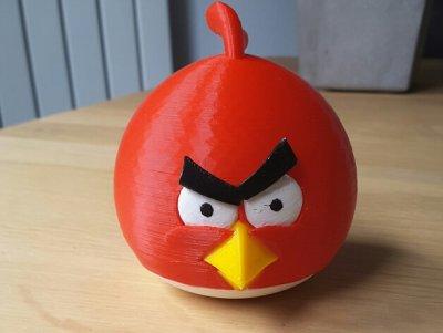 Angry Bird aus dem 3D-Drucker