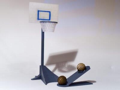 Basketballkorb für den Schreibtisch