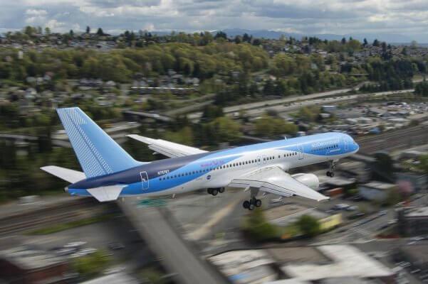 Boeing 757 EcoDemonstrator.